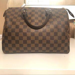Authentic Speedy Louis Vuitton bag